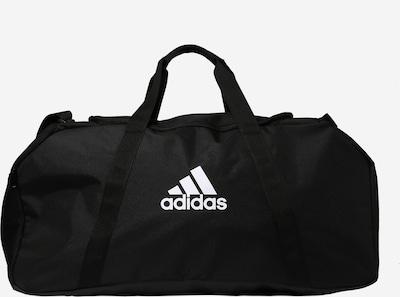 ADIDAS PERFORMANCE Sporttasche in schwarz / weiß: Frontalansicht