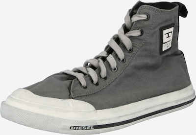DIESEL Hög sneaker 'ASTICO' i mörkgrå / svart / vit, Produktvy