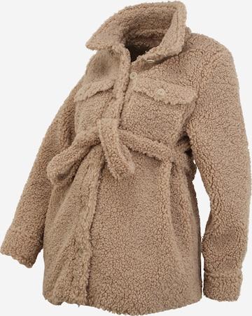 MAMALICIOUS Övergångsjacka 'FLOF' i brun