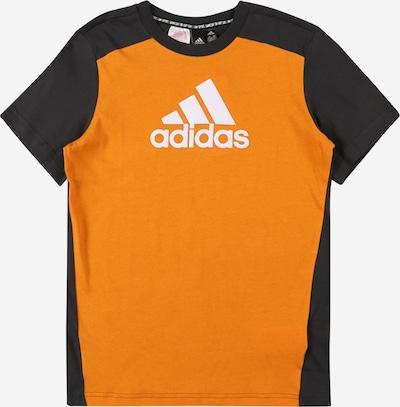 ADIDAS PERFORMANCE Funktionsshirt in orange / schwarz / weiß, Produktansicht