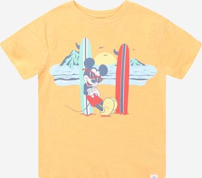 GAP Tričko - zmiešané farby / marhuľová, Produkt