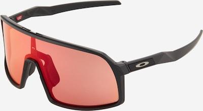 OAKLEY Lunettes de soleil sport 'Sutro S' en rouge / noir, Vue avec produit