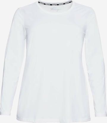 SHEEGO Funksjonsskjorte i hvit
