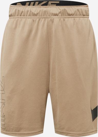 NIKE Pantalón deportivo en marrón claro / negro, Vista del producto
