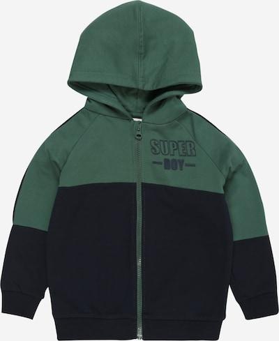 NAME IT Bluza rozpinana 'Ogio' w kolorze niebieska noc / ciemnozielony / białym, Podgląd produktu