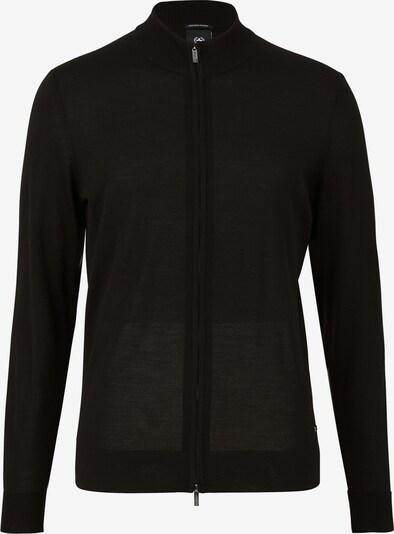 STRELLSON Strickjacke ' Marek ' in schwarz, Produktansicht
