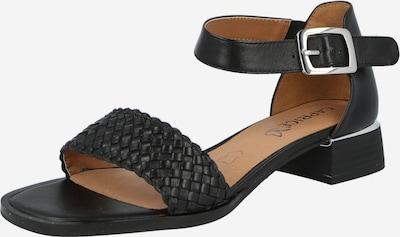 CAPRICE Páskové sandály - černá, Produkt