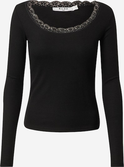 Tricou NA-KD pe negru, Vizualizare produs