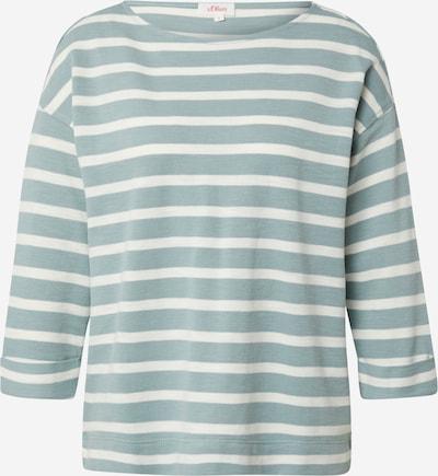 s.Oliver Shirt in de kleur Mintgroen / Wit, Productweergave