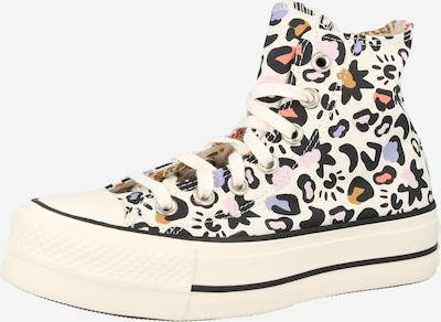 Sneaker înalt 'CTAS LIFT HI' CONVERSE pe albastru fumuriu / maro coniac / mauve / negru / alb, Vizualizare produs