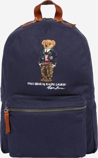 POLO RALPH LAUREN Rugzak in de kleur Navy / Gemengde kleuren, Productweergave