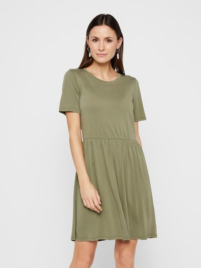 PIECES Kleid 'KAMALA' in khaki, Modelansicht