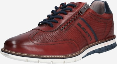 bugatti Athletic lace-up shoe 'Sandman' in dark red, Item view