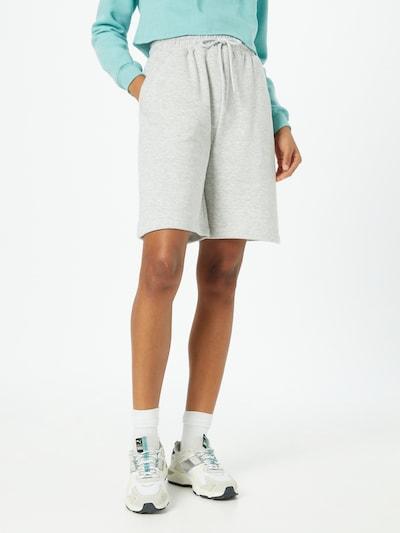 Missguided Hose in graumeliert / schwarz, Modelansicht