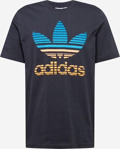 ADIDAS ORIGINALS T-Shirt in aqua / gelb / schwarz, Produktansicht