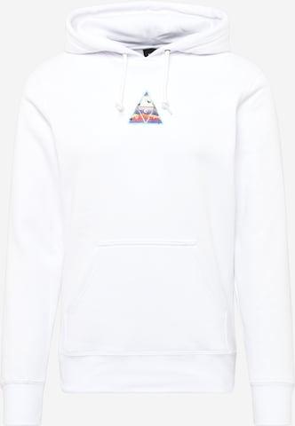 Sweat-shirt HUF en blanc