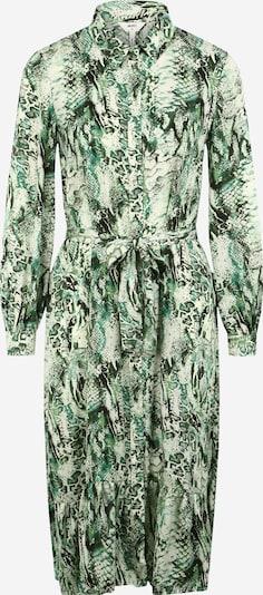 OBJECT (Petite) Robe-chemise 'Cleo' en beige / vert / noir, Vue avec produit