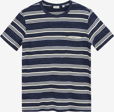 MANGO MAN Shirt 'Conan' in de kleur Navy / Wit, Productweergave