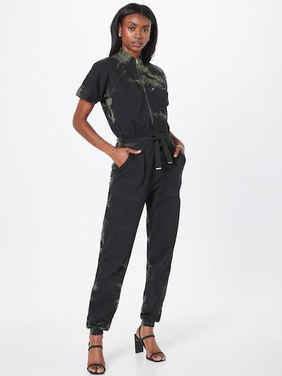 AllSaints Overal 'Kayla Tidy' - kaki / čierna, Model/-ka