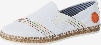 RIEKER Espadrilles in Yellow / Green / Orange / Red / White, Item view