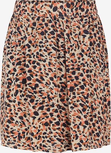 PIECES Skirt 'Nya' in Nude / Brown / Coral / Black, Item view