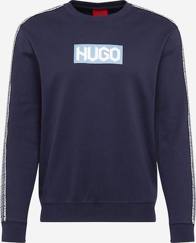 Felpa 'Dubeshi' HUGO di colore blu chiaro / blu scuro, Visualizzazione prodotti