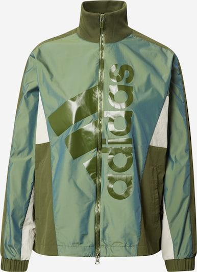 ADIDAS PERFORMANCE Chaqueta deportiva en oliva / verde pastel / blanco, Vista del producto