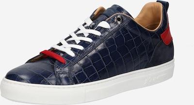 Sneaker bassa La Martina di colore navy / rosso, Visualizzazione prodotti