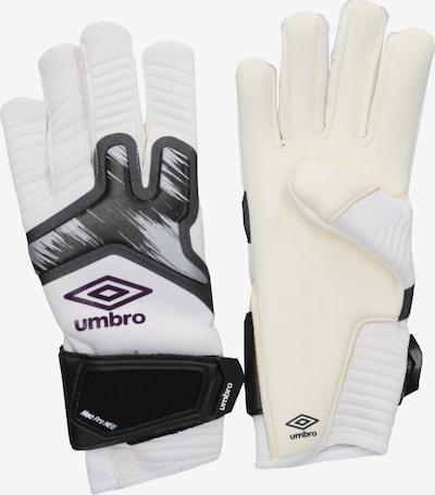 UMBRO Handschuh in schwarz / weiß, Produktansicht