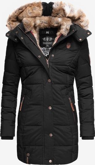 MARIKOO Wintermantel in schwarz, Produktansicht