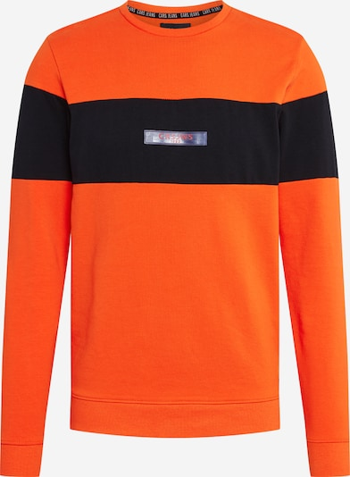 Cars Jeans Sweater majica 'SLING ' u narančasta / crna, Pregled proizvoda