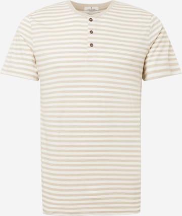 TOM TAILOR T-Shirt in Beige