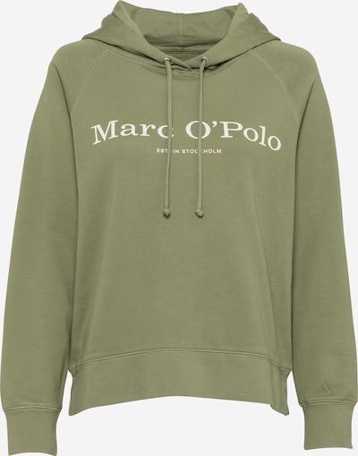 Marc O'Polo Sweatshirt in khaki / weiß, Produktansicht