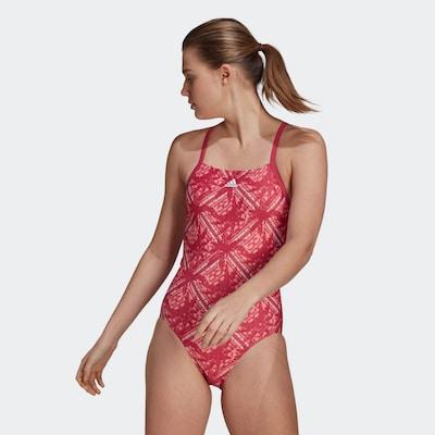 pitaja / fehér ADIDAS PERFORMANCE Sport fürdőruhák, Modell nézet