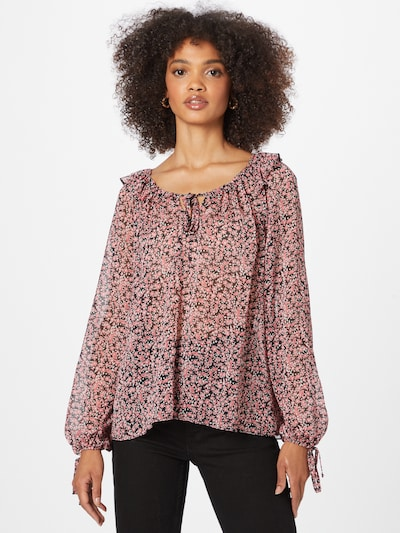 NEW LOOK Blouse 'KIMMY' in Pink / Black / White, View model