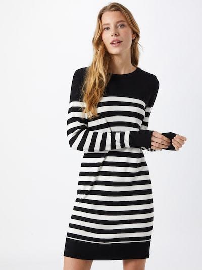 VERO MODA Kleid 'LACOLE' in schwarz / weiß, Modelansicht