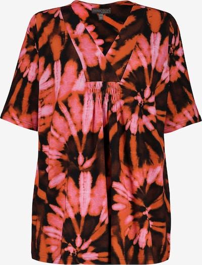 Ulla Popken Shirt in mischfarben: Frontalansicht