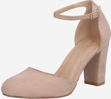 ABOUT YOU - Zapatos con plataforma 'Eva' en beige
