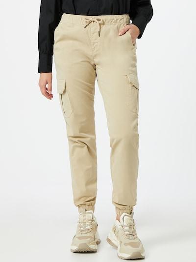 Urban Classics Pantalón cargo en beige, Vista del modelo