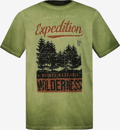 JP1880 Shirt in grün / mischfarben, Produktansicht