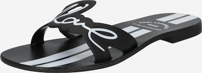 Karl Lagerfeld Nizki natikači | črna / bela barva, Prikaz izdelka