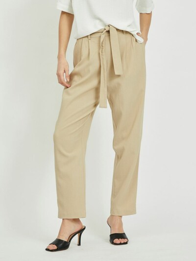 VILA Hose in beige, Modelansicht