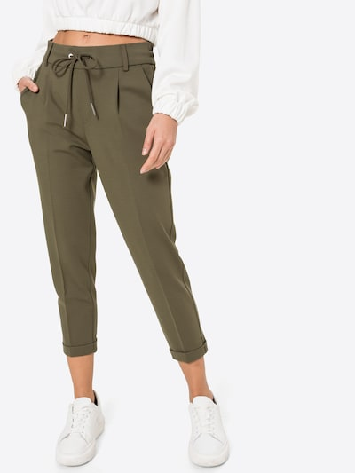 UNITED COLORS OF BENETTON Hose in khaki, Modelansicht