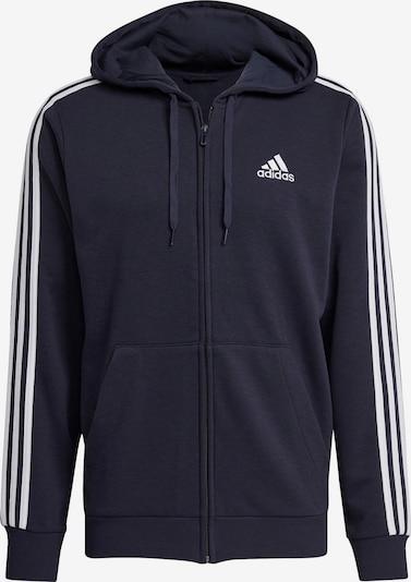 ADIDAS PERFORMANCE Bluza rozpinana sportowa w kolorze ciemny niebieski / białym, Podgląd produktu