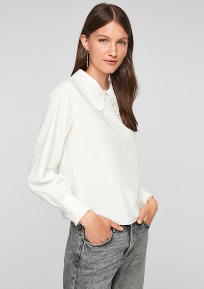 Q/S by s.Oliver Blouse in White, View model