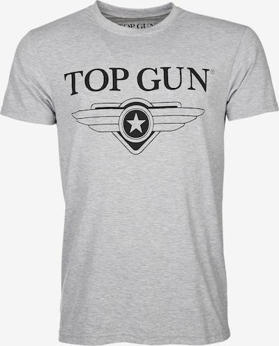 TOP GUN Shirt in de kleur Grijs: Vooraanzicht