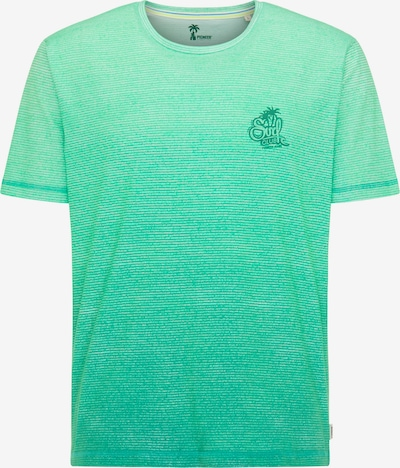 PIONEER T-Shirt in smaragd, Produktansicht