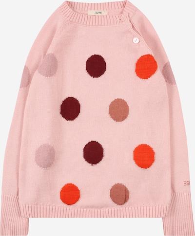Pulover ESPRIT pe mov pastel / roz pastel / roșu / roșu burgundy, Vizualizare produs