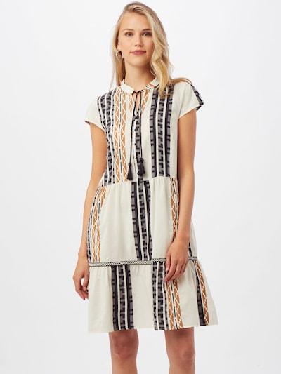 Rochie tip bluză MORE & MORE pe maro deschis / negru / alb, Vizualizare model