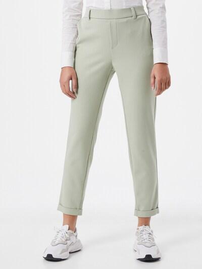 VERO MODA Pantalon 'MAYA' en menthe, Vue avec modèle
